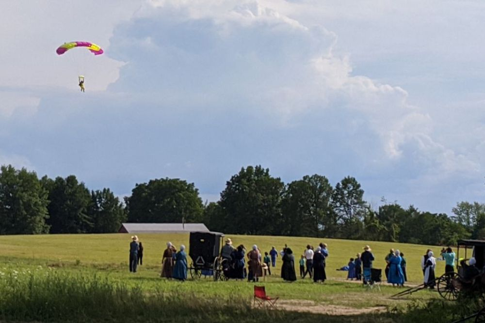 aerohio, skydiving, ashland county